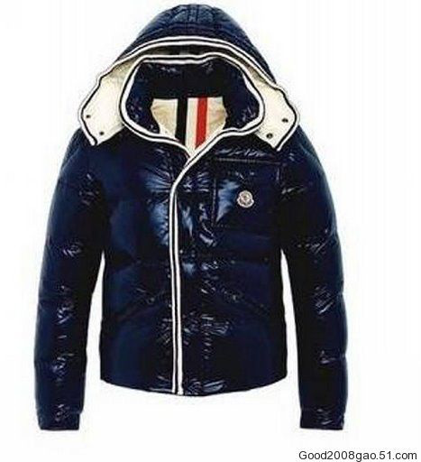 Cheap Moncler Jackets For Men Blue With Mock Collar MC1136 Sale